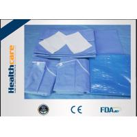 Buy cheap New Design Disposable Surgical Packs Sterile C-section Pack With Mayo Cover Waterproof from wholesalers