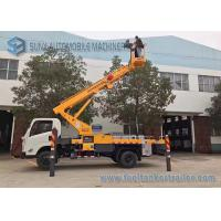 Buy cheap JMC Chassis High Altitude Operation Truck  4x2 20m Telescopic Work Platform from wholesalers
