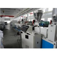 Twin Screw Pvc Pipe Production Line Plastic Pipe Making Machine Long Service Life Manufactures