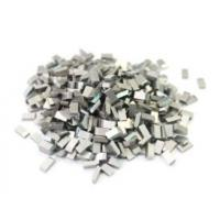 Buy cheap Erosion Resistant Tungsten Carbide Saw Tips / High Speed Wood Cutting Tips from wholesalers