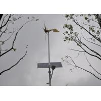 China Eolic Power Clean Power Personal Windmill Generator , Electric Wind Turbines For Homes on sale