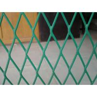 Low Carbon Steel Diamond Expanded Metal Wire Mesh For Decoration / Large Venues Manufactures