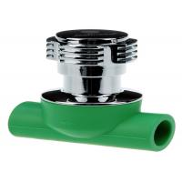 Buy cheap Concealed Stop Valve PPR Pipe Fittings Injection Smooth Surface Lightweight from wholesalers