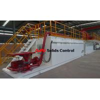 Buy cheap Professional rectangular drilling fluid mud tank used in drilling mud process from wholesalers