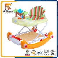 Buy cheap 2016 new model rocking horse baby walker with 2 brakes round baby walkers seat wholesale from wholesalers