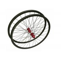 Buy cheap Handbuilt Tubuless 27.5 Mountain Bike Wheels Clincher 135KG Limited Weight from wholesalers