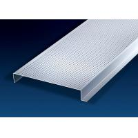 Buy cheap Construction Decorative Sheet Metal Ceiling Tiles 200mm Width H-Shape  0.6 ~ 1.0mm from wholesalers