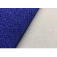 Buy cheap Ripstop Cationic Super Stretch Fabric Waterproof Membrane Bonding In Dark Blue from wholesalers