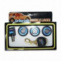 Buy cheap Car Door Locking Kit, Suitable for Various Cars, Made of Zinc Alloy from wholesalers