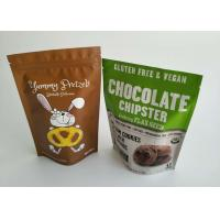 Buy cheap Dried Food Plastic Pouches Packaging Matt Cookie Mylar Foil Pouch For Long Term Storage from wholesalers