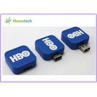 Buy cheap White Blue Red USB Flash Drive / Twist USB Sticks Promotional for School from wholesalers