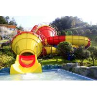 Buy cheap Funny Outdoor Park Water Slide Fiberglass Tantrum Valley For 480 Riders Per Hour from wholesalers