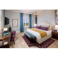 Buy cheap American Style Modern Design Luxury Hotel Bedroom Furniture Walnut Wood Finish product