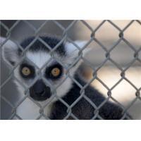 Buy cheap Feral Animal Security Protection Chain Link Fencing With Electro Galvanized Wire from wholesalers