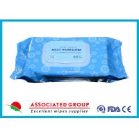 Buy cheap Premium Spunlace Adult Wet Wipes , Disposable Adult Wash Cloth Extra Large Size from wholesalers