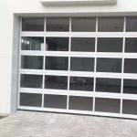 Buy cheap Automatic Motor Operation 5mm Aluminum Sectional Door from wholesalers