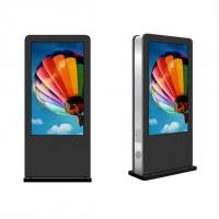 Buy cheap 1080P 65'' Floor Standing Digital Signage With Advertisement Management Software from wholesalers