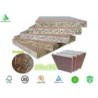 Buy cheap E1 /E0 kitchen cabinets manufacturing 18MM highly moisture resistant particle board from wholesalers