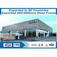 Wholesale BS / ASTM Prefabricated Steel Structures , Professional  Pre Fab Metal Building from china suppliers