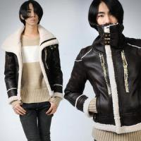Buy cheap 2010 Men's fashion PU leather jacket from wholesalers