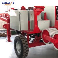 Buy cheap Max Intermittent Pull 90KN Cable Pulling Equipment Diesel 118kw 158hp from wholesalers