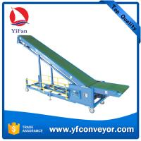 Buy cheap Long distance mobile truck container loading belt conveyor from China from wholesalers