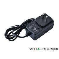 Buy cheap Wall Mount Power Adapter Single Output US EU UK Plug AC DC Adaptor 12v 0.8a product