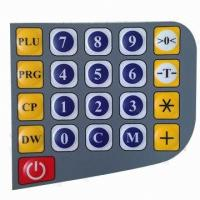 Silicone Rubber Keyboard Membrane Switch Panel For Medical Equipment