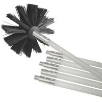Buy cheap Brush Cleaner Dryer Vent Kit Ventilation Cleaner Set Plastic Pipe With Brush from wholesalers