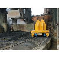 Buy cheap 60t Turkey foundry plant battery flat steel scrap transfer car on curving rails from wholesalers