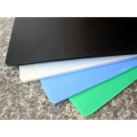 Buy cheap Custom 2mm-10mm Coroplast Sheets / Polypropylene Corrugated Plastic Sheets from wholesalers