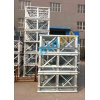 Buy cheap Red Painted Double Cage Man And Material Hoist 1600kg , Building Materials Lift from wholesalers