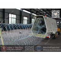 Wholesale Mobile Security Razor Barrier Trailer | Razor Wire Rapid Deployment Barrier from china suppliers