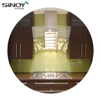 Buy cheap 6mm 8mm Back Painted Glass Price Stove Decorative Glass For Interior Kitchen Deco from wholesalers