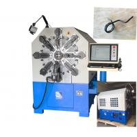 Buy cheap 100m / Min Feeding Speed Coil Spring Manufacturing Machine For Low Carbon Steel 2-6mm from wholesalers