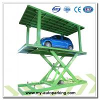 Buy cheap Scissor Type Underground Garage Lift Car Lift for Basement Car Stack Underground Car Lift Price from wholesalers