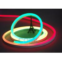 China 24V Multi  RGB Color Neon LED Strip Lights Waterproof For Contour Profile Holiday Decoration on sale