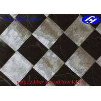 Buy cheap Ultra Thin Carbon Fiber Fabric 6K T800 Wide 37GSM Carbon Fiber Spread Tow Fabric product
