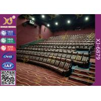 Buy cheap 2.3mm Thick Rocker Back Fixed Cinema Style Seating With Ergonomic Backrest Design from wholesalers