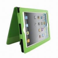 Wholesale Leather Case for iPad, Various Colors are Available from china suppliers