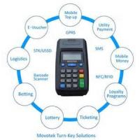 Buy cheap Movotek GSM Printer (GPRS & USSD & SMS) for Prepaid Electricity System (Electricity Token) from wholesalers