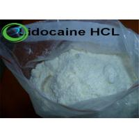 China Local Anesthetic Agents Lidocaine hydrochloride White Crytalline Powder on sale
