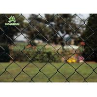 Buy cheap Diamond Hole Steel Chain Link Fence 50 × 50mm Heat Resistance For Railway Station from wholesalers