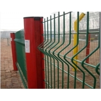 Buy cheap Garden V Folds 2.5m Welded Wire Mesh Fence from wholesalers
