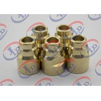 Buy cheap Durable Brass Joints CNC Turning And Milling Process 14.5mm X 20.5mm Size product