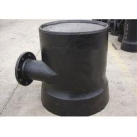 Wholesale Casting Ductile Iron Pipe Fittings Socket Spigot Level Invert Tee Flange Connection from china suppliers