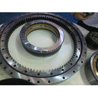 Buy cheap 50Mn, 42CrMo China supplier Non-gear External gear Internal gear Lazy susan single Roller Slewing bearing from wholesalers