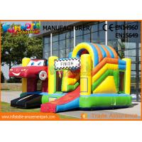 Wholesale 0.55mm PVC Play House Kids Castillos Inflables Bouncy Castle With Slide from china suppliers