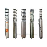 Buy cheap Water Desalination Offshore Stainless Steel Submersible Pump 8 High Lift Head from wholesalers