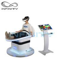 Buy cheap Customized Color 9D Virtual Reality Game With DPVR E3 2K Glasses from wholesalers